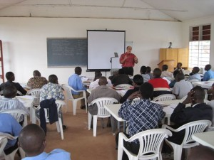 Class at Westminster Theological College & Seminary